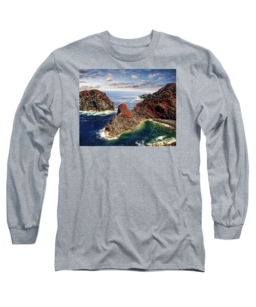 Bay Of Ponta Da Barca Long Sleeve T-Shirt