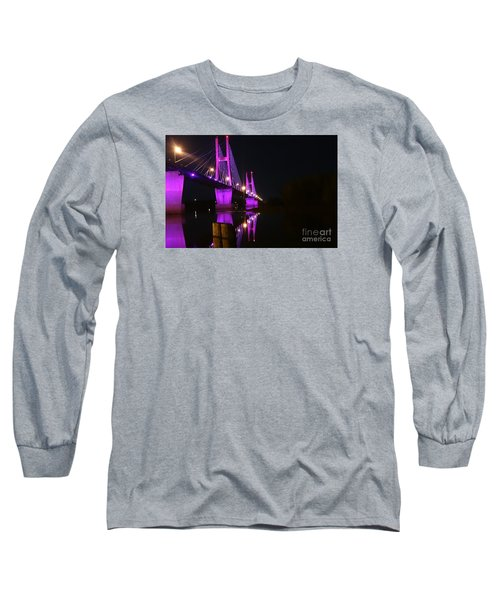 Bay View Reflection Post Long Sleeve T-Shirt by Justin Moore