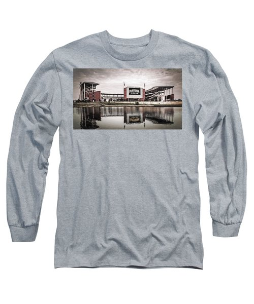 Football Stadium Sketch Long Sleeve T-Shirt