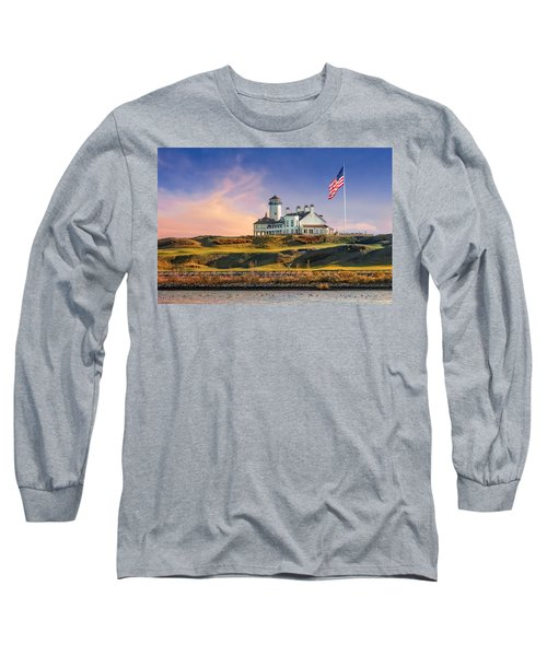 Long Sleeve T-Shirt featuring the photograph Bayonne Golf Club by Susan Candelario
