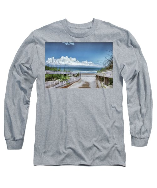 Beach Access Long Sleeve T-Shirt