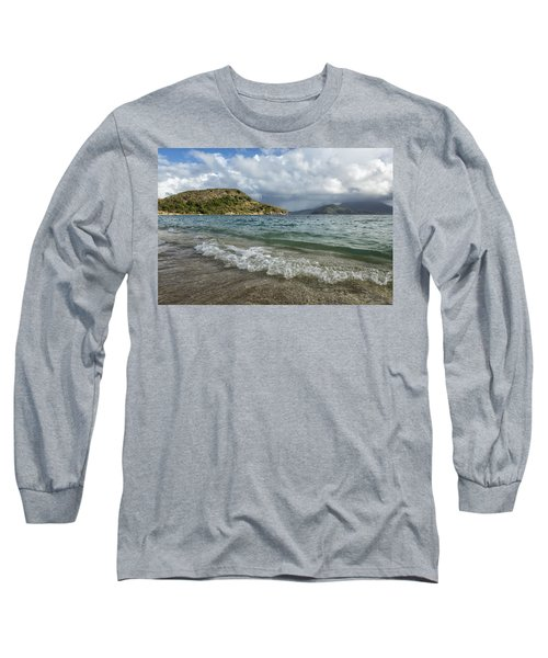 Beach At St. Kitts Long Sleeve T-Shirt