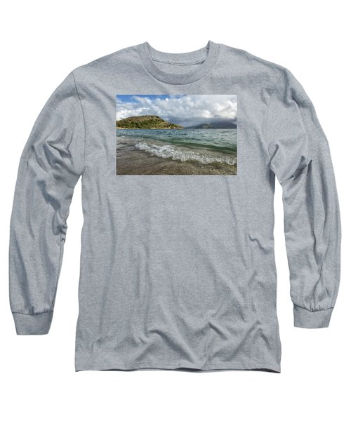 Beach At St. Kitts Long Sleeve T-Shirt