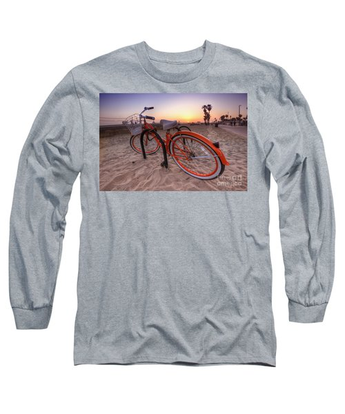 Beach Bike Long Sleeve T-Shirt