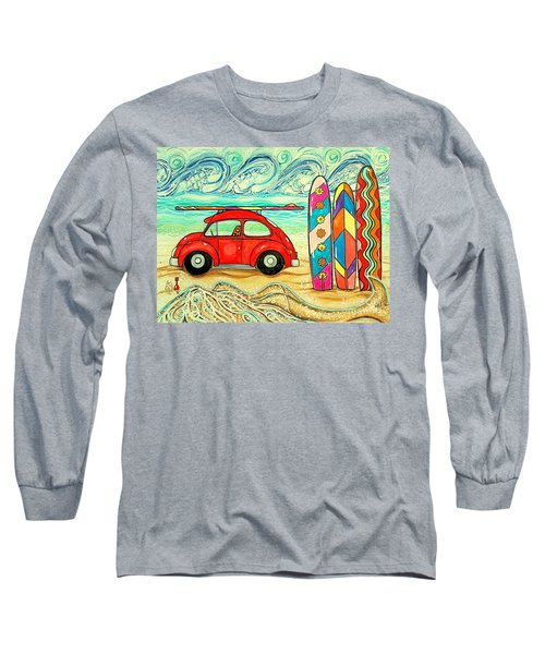 Beach Bug Long Sleeve T-Shirt