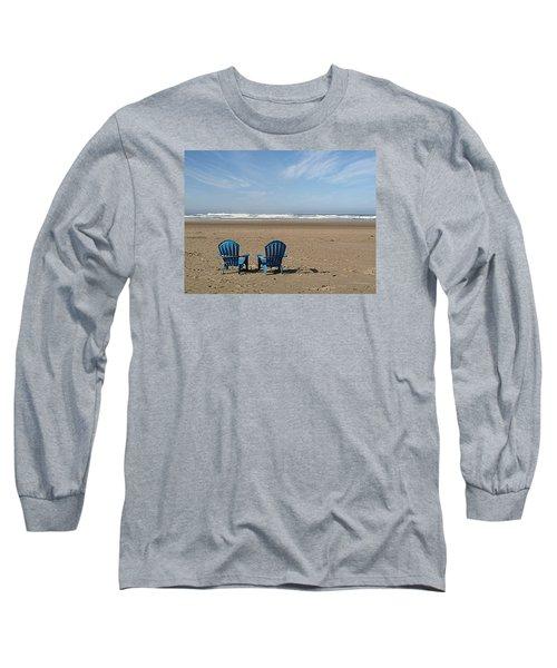 Beach Chair Pair Long Sleeve T-Shirt