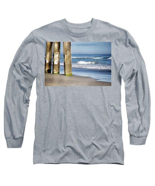 Long Sleeve T-Shirt featuring the photograph Beach Dreams by Phil Mancuso