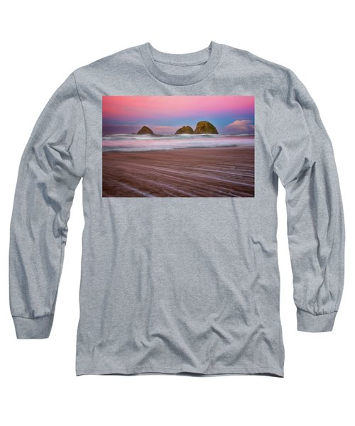 Long Sleeve T-Shirt featuring the photograph Beach Of Dreams by Darren White