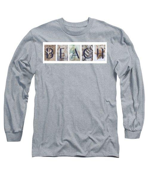 Beach Long Sleeve T-Shirt