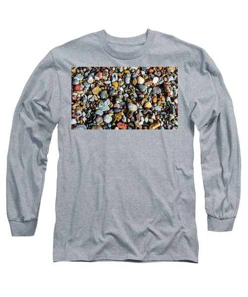 Beach Rocks Long Sleeve T-Shirt