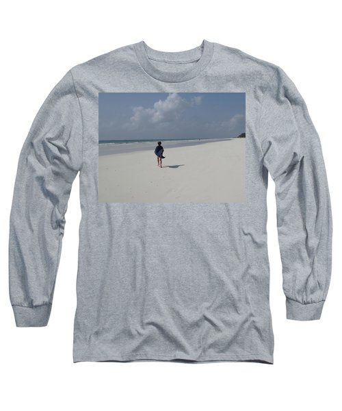 Beach Run Long Sleeve T-Shirt