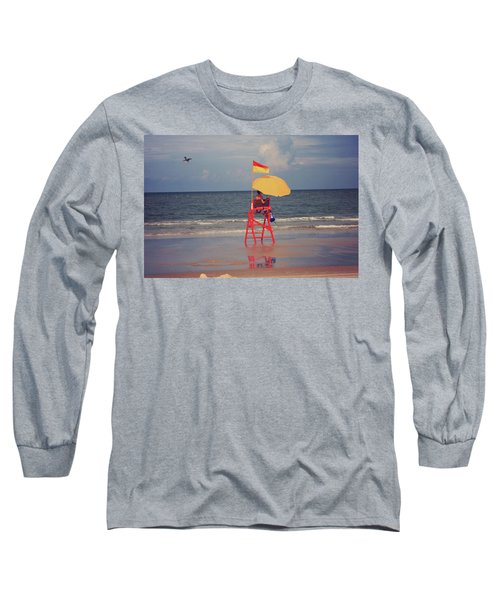 Beach Sentinel Florida Long Sleeve T-Shirt