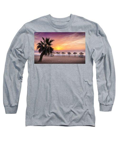 Beach Sunrise. Long Sleeve T-Shirt