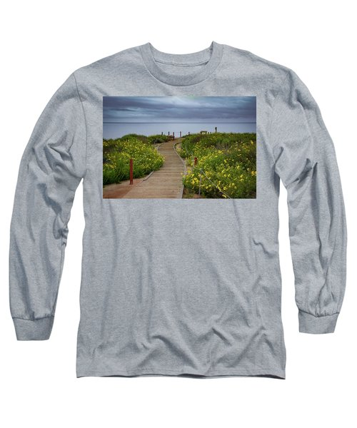 Beach Wildflowers Long Sleeve T-Shirt