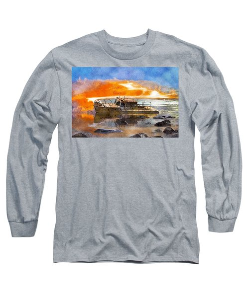 Beached Wreck Long Sleeve T-Shirt