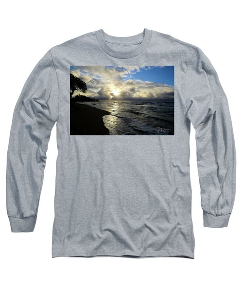 Beachy Morning Long Sleeve T-Shirt