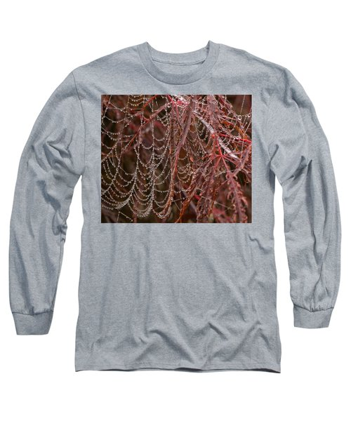 Beads Of Raindrops Long Sleeve T-Shirt