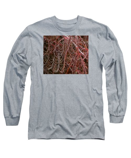 Beads Of Raindrops Long Sleeve T-Shirt