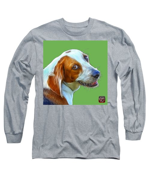 Beagle Dog Art- 6896 -wb Long Sleeve T-Shirt
