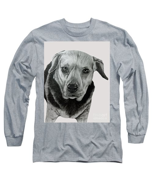 Beagle-shepherd Mix Long Sleeve T-Shirt