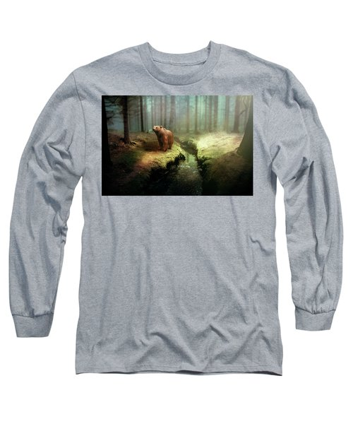 Bear Mountain Fantasy Long Sleeve T-Shirt