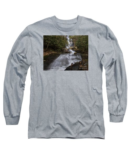 Bearden Falls Long Sleeve T-Shirt by Barbara Bowen