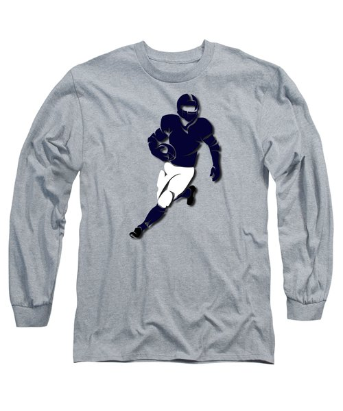 Bears Player Shirt Long Sleeve T-Shirt by Joe Hamilton
