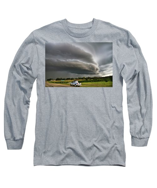 Beast Over Yorkton Long Sleeve T-Shirt