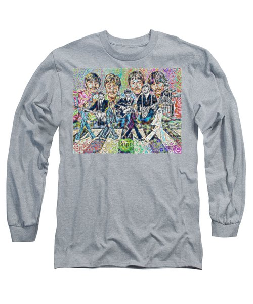 Beatles Tapestry Long Sleeve T-Shirt