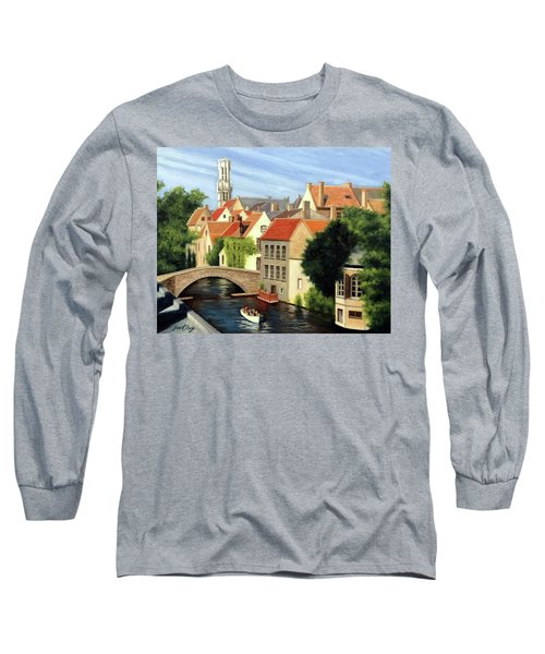 Beautiful Bruges Long Sleeve T-Shirt