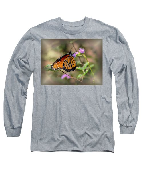 Beautiful Butterfly Long Sleeve T-Shirt