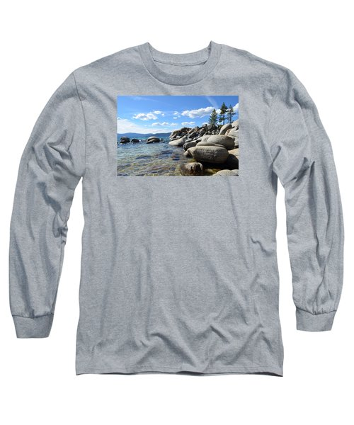 Long Sleeve T-Shirt featuring the photograph Beautiful Day At Lake Tahoe by Alex King