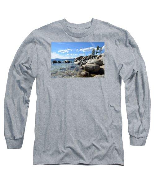 Beautiful Day At Lake Tahoe Long Sleeve T-Shirt by Alex King
