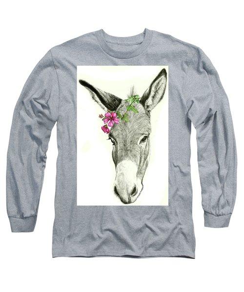 Beautiful Donkey Long Sleeve T-Shirt
