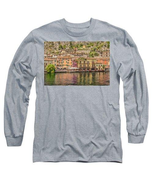 Beautiful Italy Long Sleeve T-Shirt by Roy McPeak