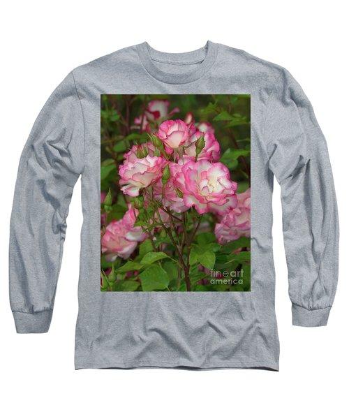 Beautiful Nicole Roses Lighter Long Sleeve T-Shirt