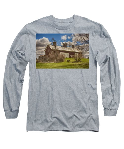 Long Sleeve T-Shirt featuring the photograph Beautiful Old Barn by JRP Photography
