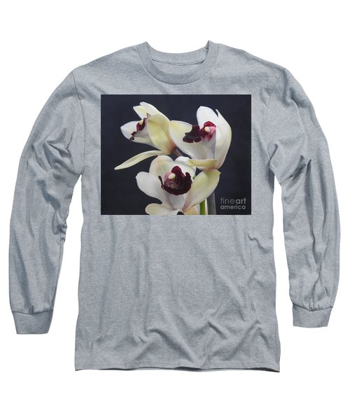 Beautiful Orchids Long Sleeve T-Shirt by Scott Cameron