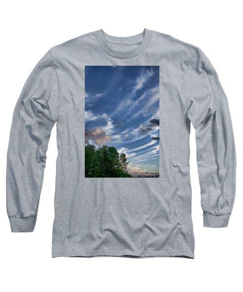 Long Sleeve T-Shirt featuring the photograph Beautiful Sky by Alana Ranney