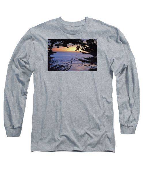 Long Sleeve T-Shirt featuring the photograph Beautiful Sunset by Alex King