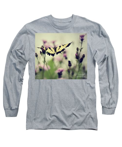 Beauty And Grace  Long Sleeve T-Shirt by Kerri Farley