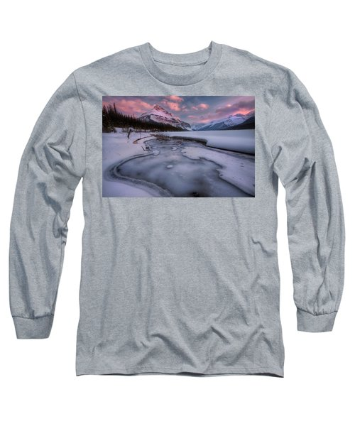 Beauty Creek, Jasper National Park Long Sleeve T-Shirt