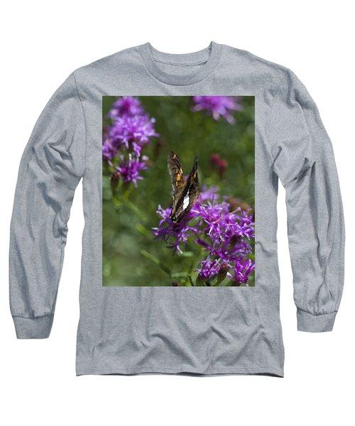 Beauty In The Garden Long Sleeve T-Shirt by Nikki McInnes