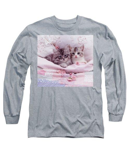 Bedtime Kitties Long Sleeve T-Shirt