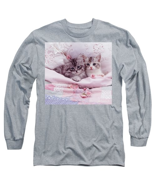 Bedtime Kitties Long Sleeve T-Shirt