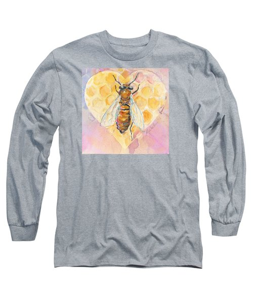 Bee Heart Long Sleeve T-Shirt