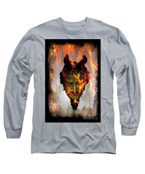 Long Sleeve T-Shirt featuring the photograph Beelzebub Iv by Al Bourassa