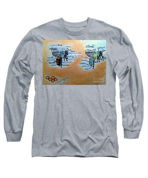 Bees  Long Sleeve T-Shirt by Francine Heykoop