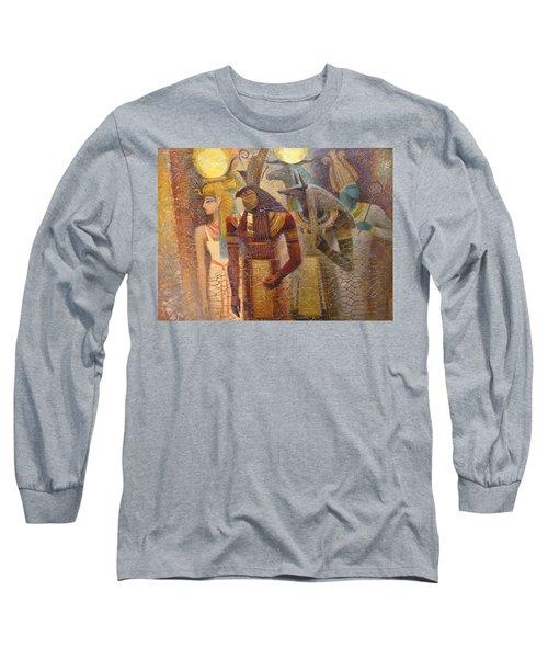 Beginnings. Gods Of Ancient Egypt Long Sleeve T-Shirt