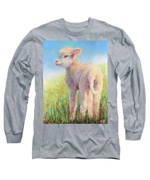 Behold The Lamb Long Sleeve T-Shirt